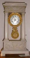 French Marble Portillo Clock