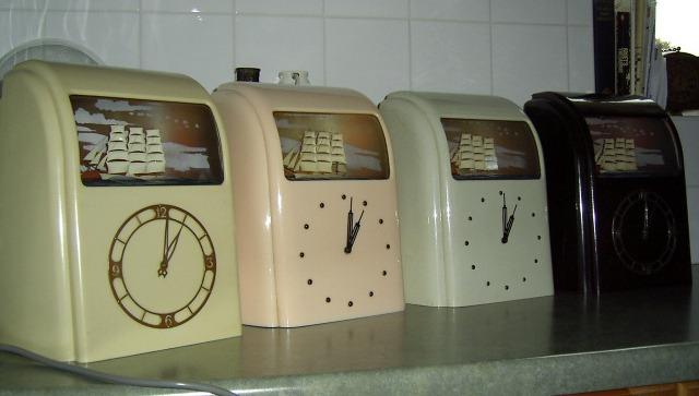 Repairing a vitascope clock