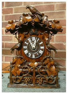 A truly collectable clock -- like all my clocks--overhauled and guaranteed  clock now sold