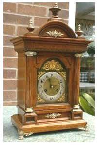 German Ting Tang  striking Bracket Clock