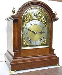 Winterhalder  and  Hofmeier Bracket Clock