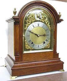 Winterhalder  and  Hofmeier Bracket Clock
