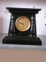 English Marble Clock Fusee Movement