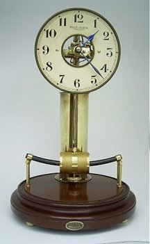 The finished Bulle clock with dome removed