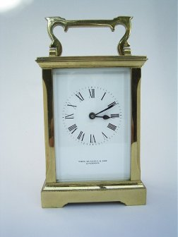 French Carridge Clock