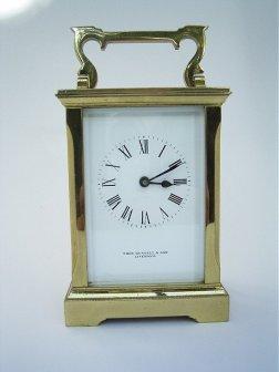 French Carridge Clock