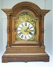 Junghans Quarter Striking Bracket Clock