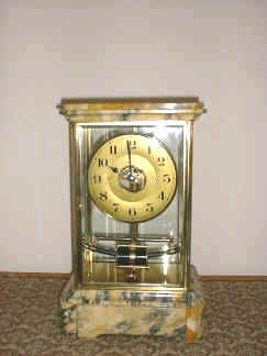 Bulle clock in four glass case rare clock