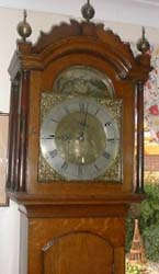 Brass Faced Norwich Longcase clock