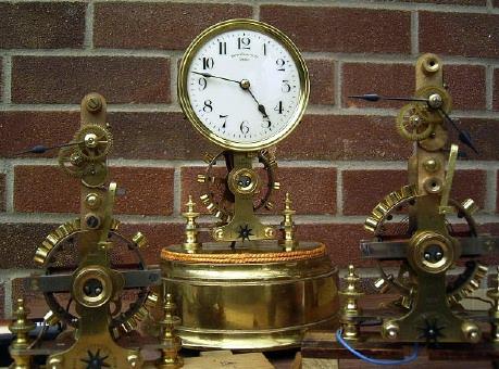 Restoraton Of An Eureka Battery Clock