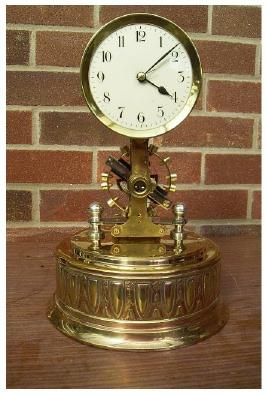 Antique Mantel Clocks >> Electric clocks, Bulle, Eureka